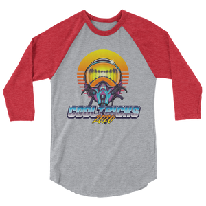 MAVERICK 3/4 sleeve raglan shirt - Shop Cool Tricks