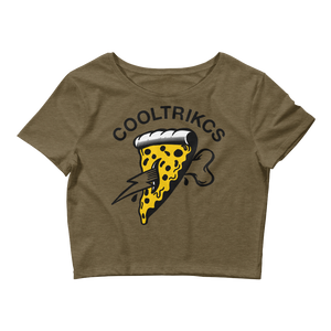 Pizza Cool Crop Tee - Shop Cool Tricks