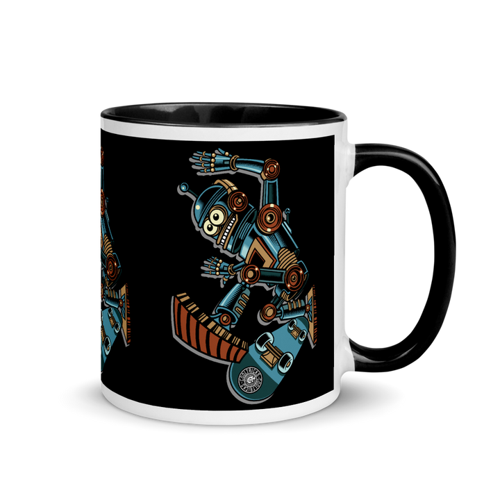 ROBOT SKATER Mug - Shop Cool Tricks