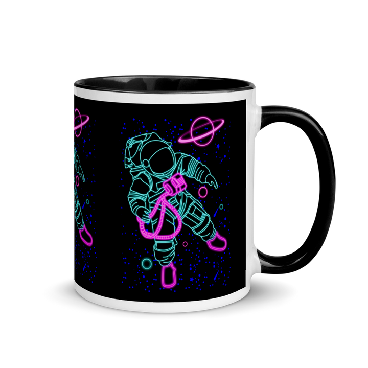 NEON ASTRONAUT Mug - Shop Cool Tricks