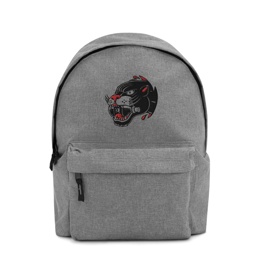 PANTHER POISON Embroidered Backpack - Shop Cool Tricks
