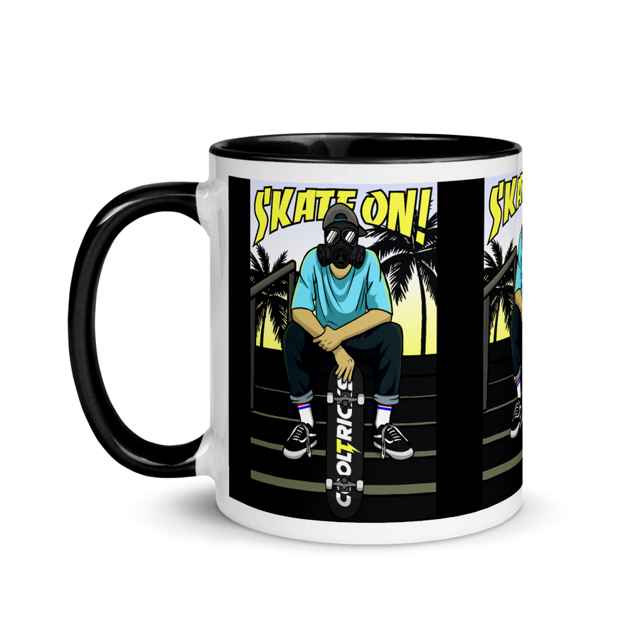 SKATE ON! Mug - Shop Cool Tricks