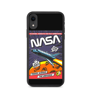 NASA SPACE EXPLORATION Biodegradable phone case