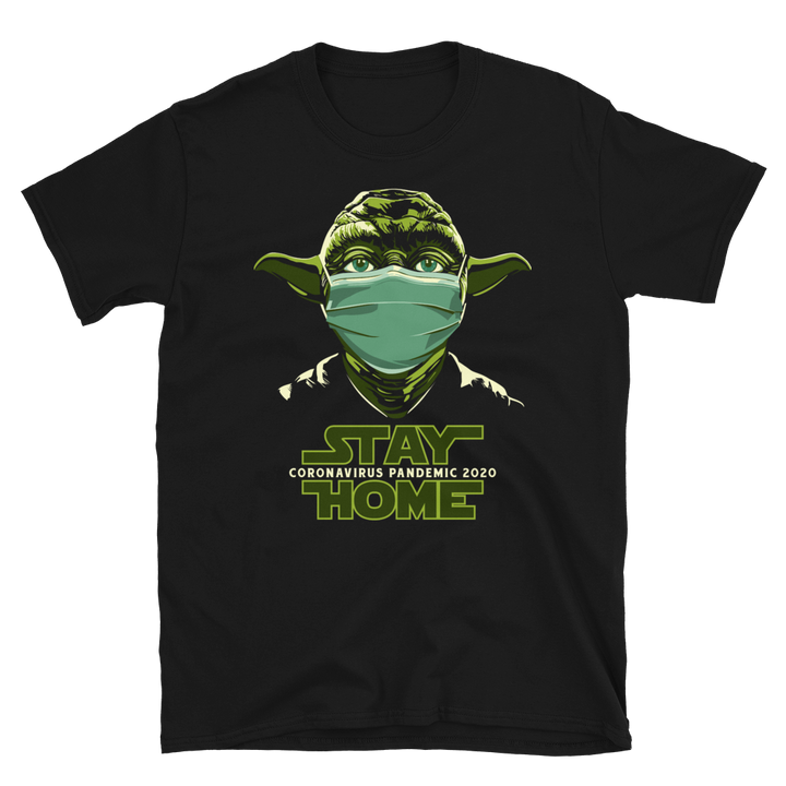 Yoda Stay Home by Awebo - Shop Cool Tricks
