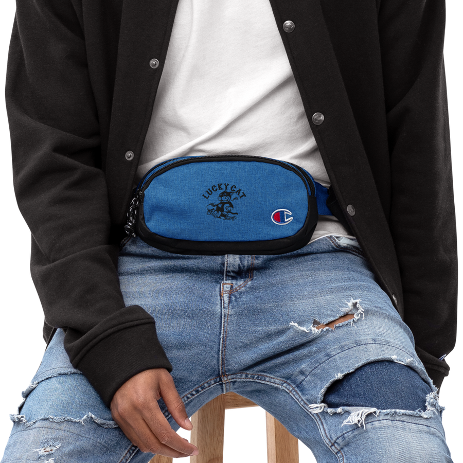 LUCKY CAT Champion fanny pack