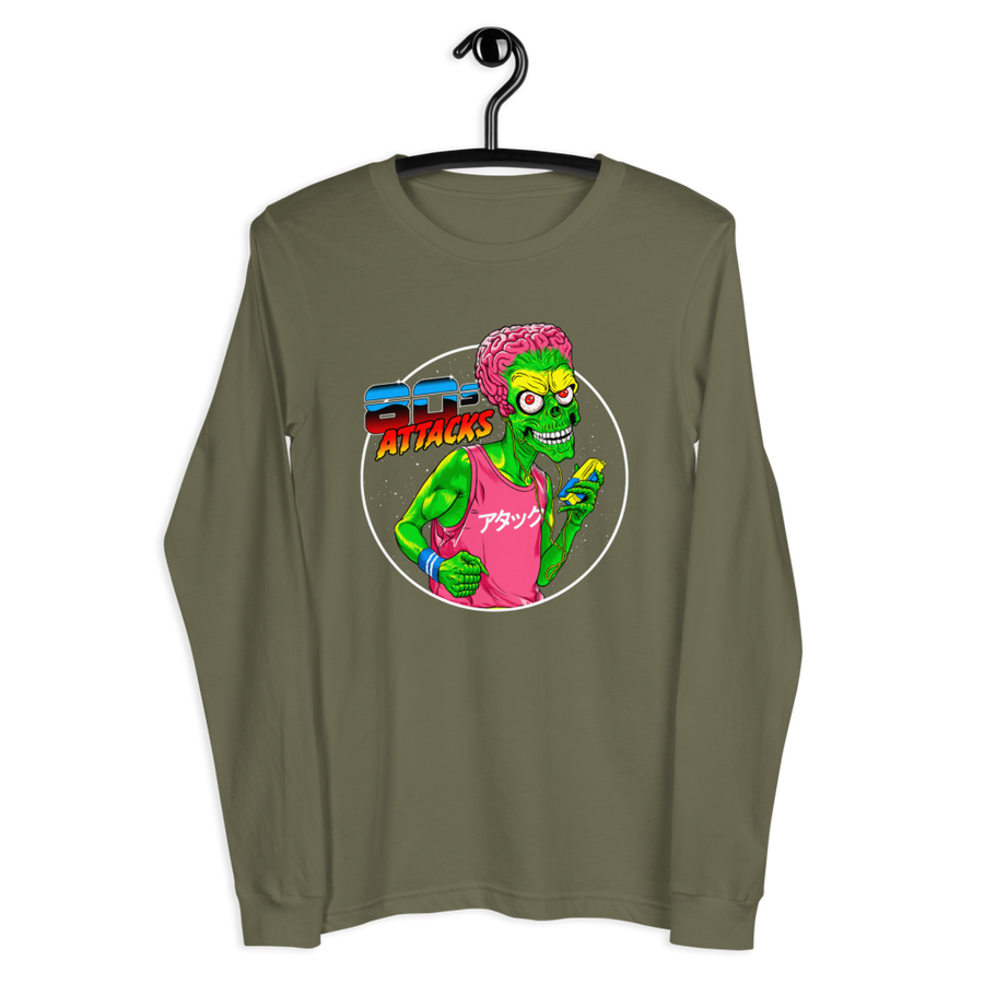 80'S ATTACK Long Sleeve Tee