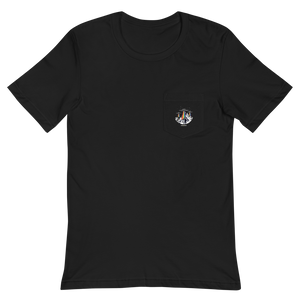 RAINBOW UFO'S Pocket T-Shirt