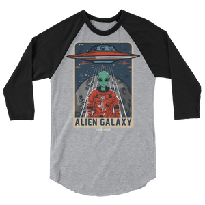 ALIEN GALAXY raglan shirt