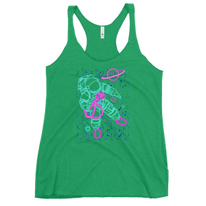Neon Astronaut Racerback Tank - Shop Cool Tricks