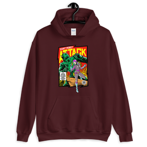 ROBOT ATTACK Hoodie - Shop Cool Tricks
