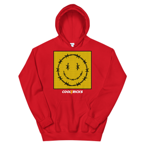 HAPPY BARBED WIRE Hoodie