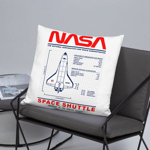 NASA Shuttle Basic Pillow - Shop Cool Tricks