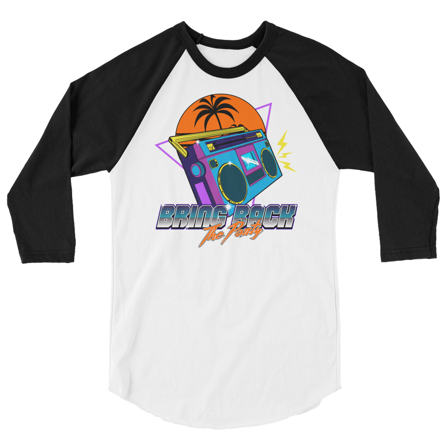 Party Time raglan shirt