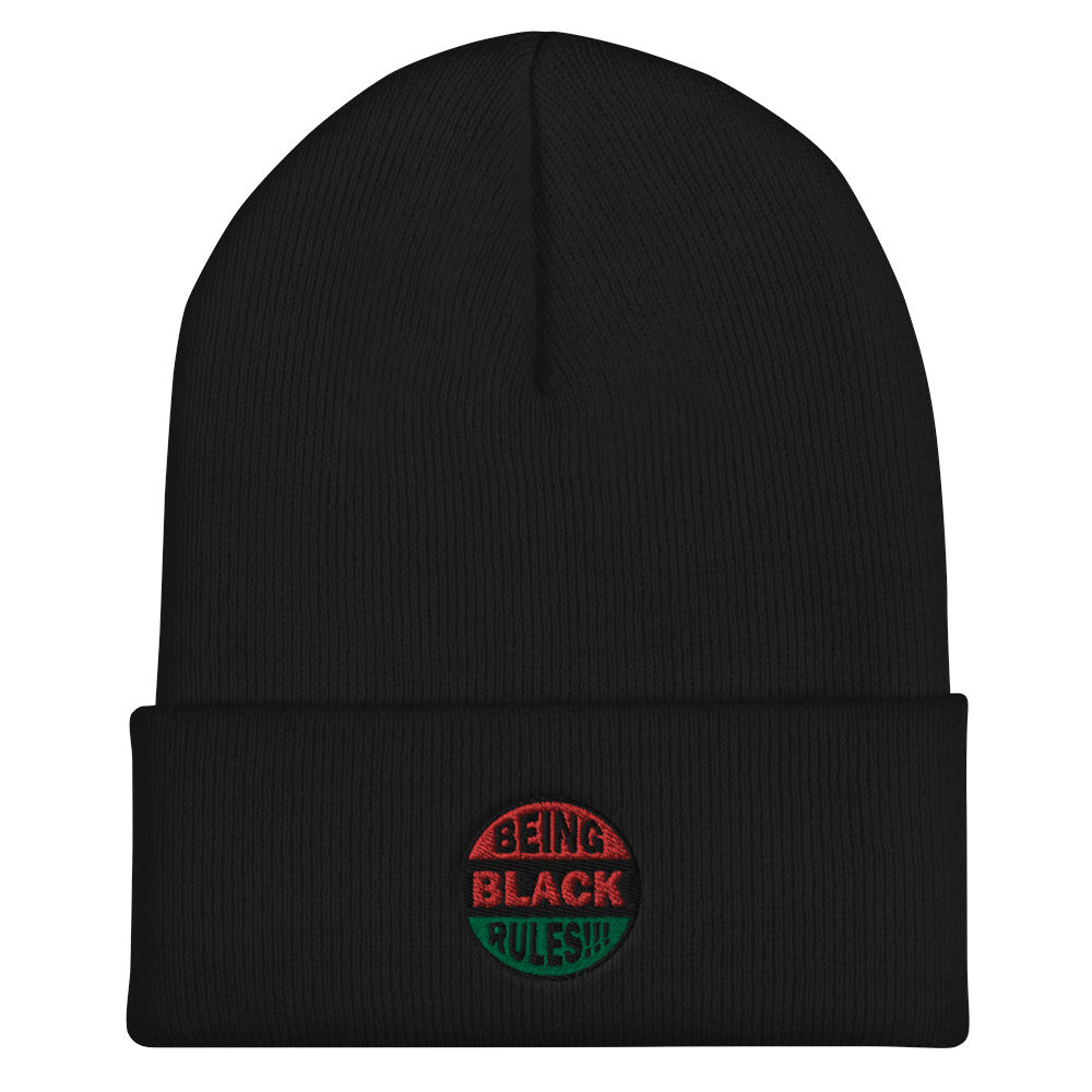 Being Black Collection Cuffed Beanie