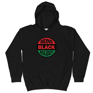 Being Black Collection Kids Hoodie