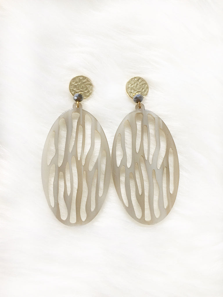 Tribal Lattice Earring