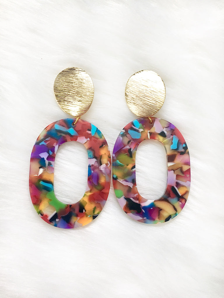 Soiree Resin Earrings