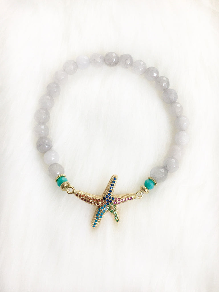 Starfish Beaded Bracelet