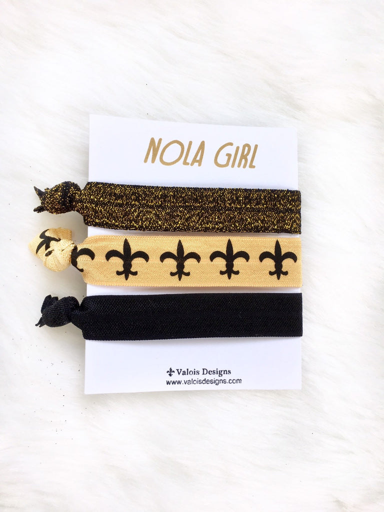 New Orleans Hair Ties