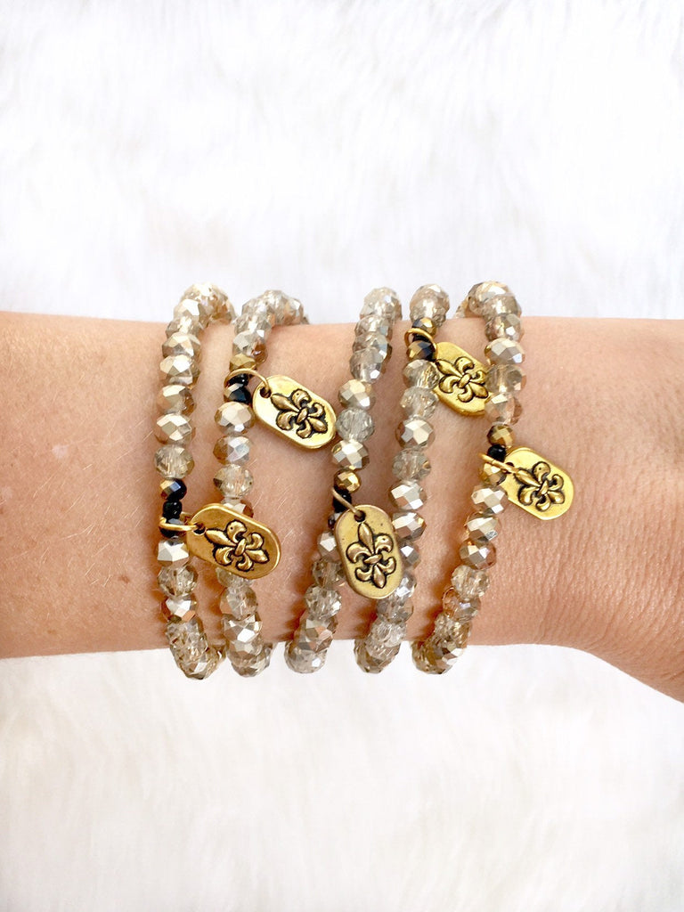 Light Gold Charm Bracelet