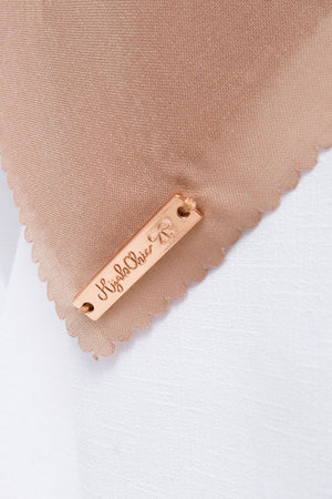 Load image into Gallery viewer, Gina Scarf Light Brown