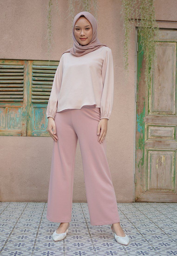 Load image into Gallery viewer, Meyrna Dusty Pink Pants