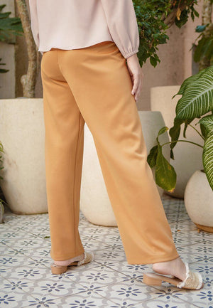 Meyrna Yellow Pants