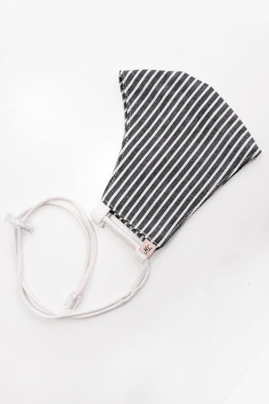 Load image into Gallery viewer, Headloop Cloth New Stripe Grey