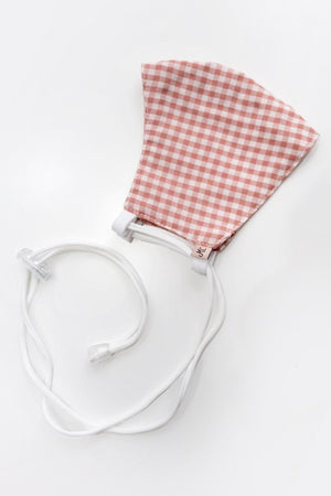 Headloop Cloth New  Pink Mini Gingham