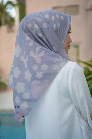 Diana Scarf  Light Charcoal