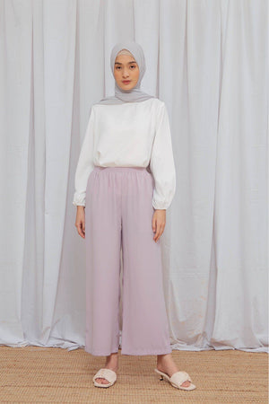 Load image into Gallery viewer, Amna Pastel Lilac Pants