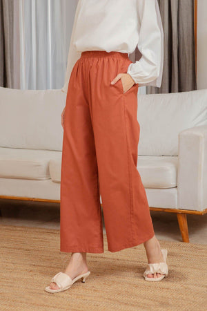 Load image into Gallery viewer, Amna Terracota pants