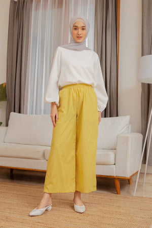 Amna Yellow Pants