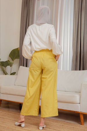 Load image into Gallery viewer, Amna Yellow Pants