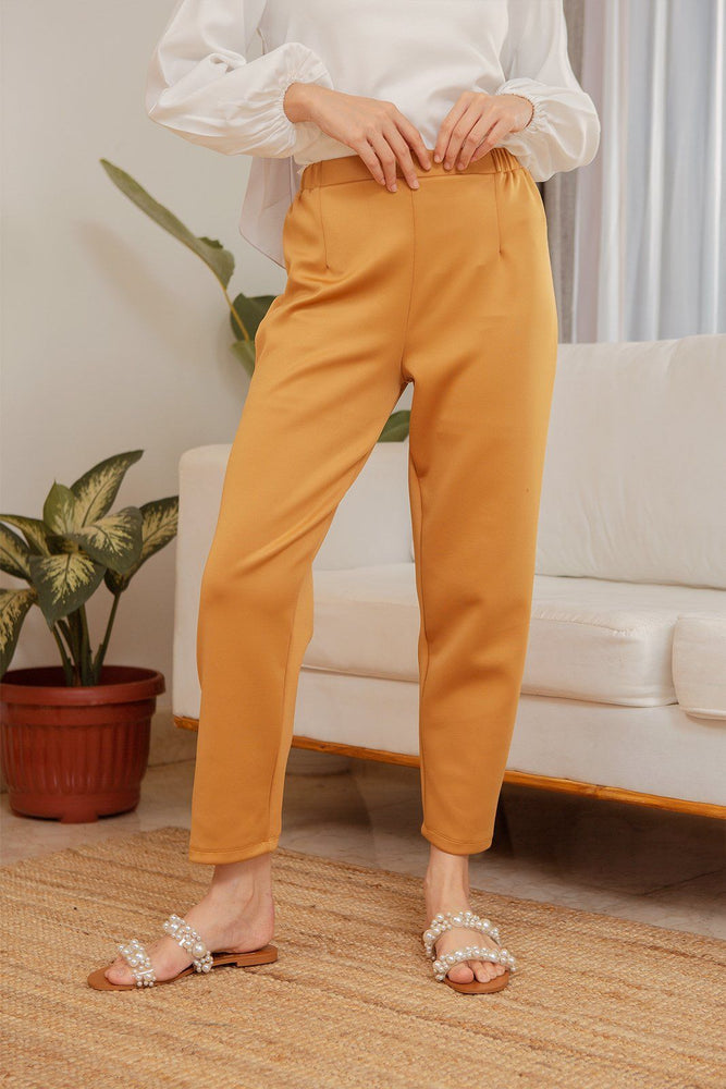 Carey Golden Yellow Pants