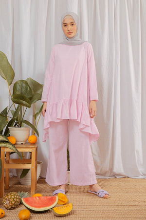 Load image into Gallery viewer, Amna Pink Pants