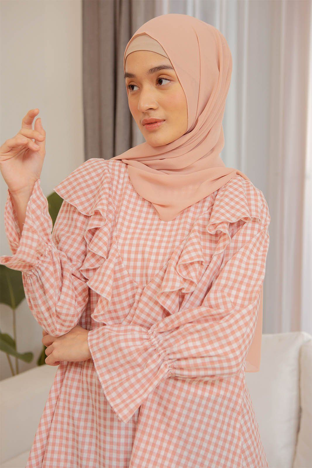 Laquan Pink Gingham top