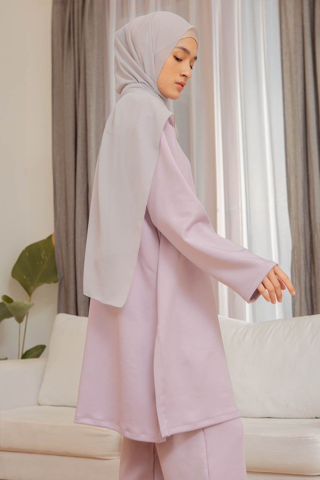 Naeira Pastel Lilac top