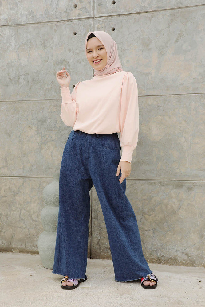 Uzma Peach Tops