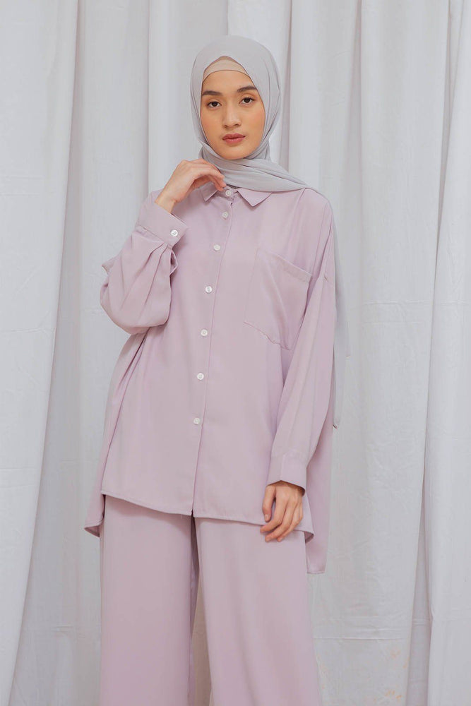 Load image into Gallery viewer, Andara Lilac top