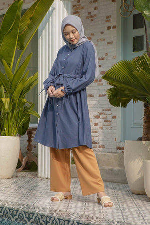 Load image into Gallery viewer, Arabella Navy Tunic