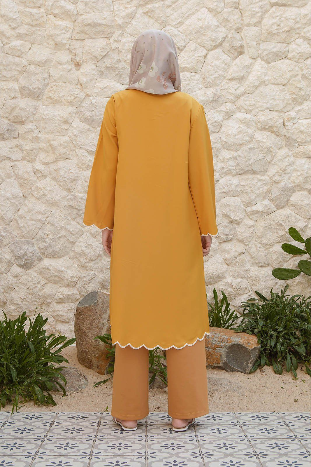 Tabitha Yellow Tunic
