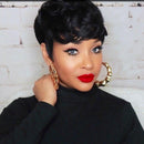 {}2020 Summer Pixie Cut Wig Human Hair Wigs