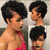 {🔥Any 4 Wigs ONLY $50}Short Curly Bob Lace Front Wig Mongolian Remy Human Hair
