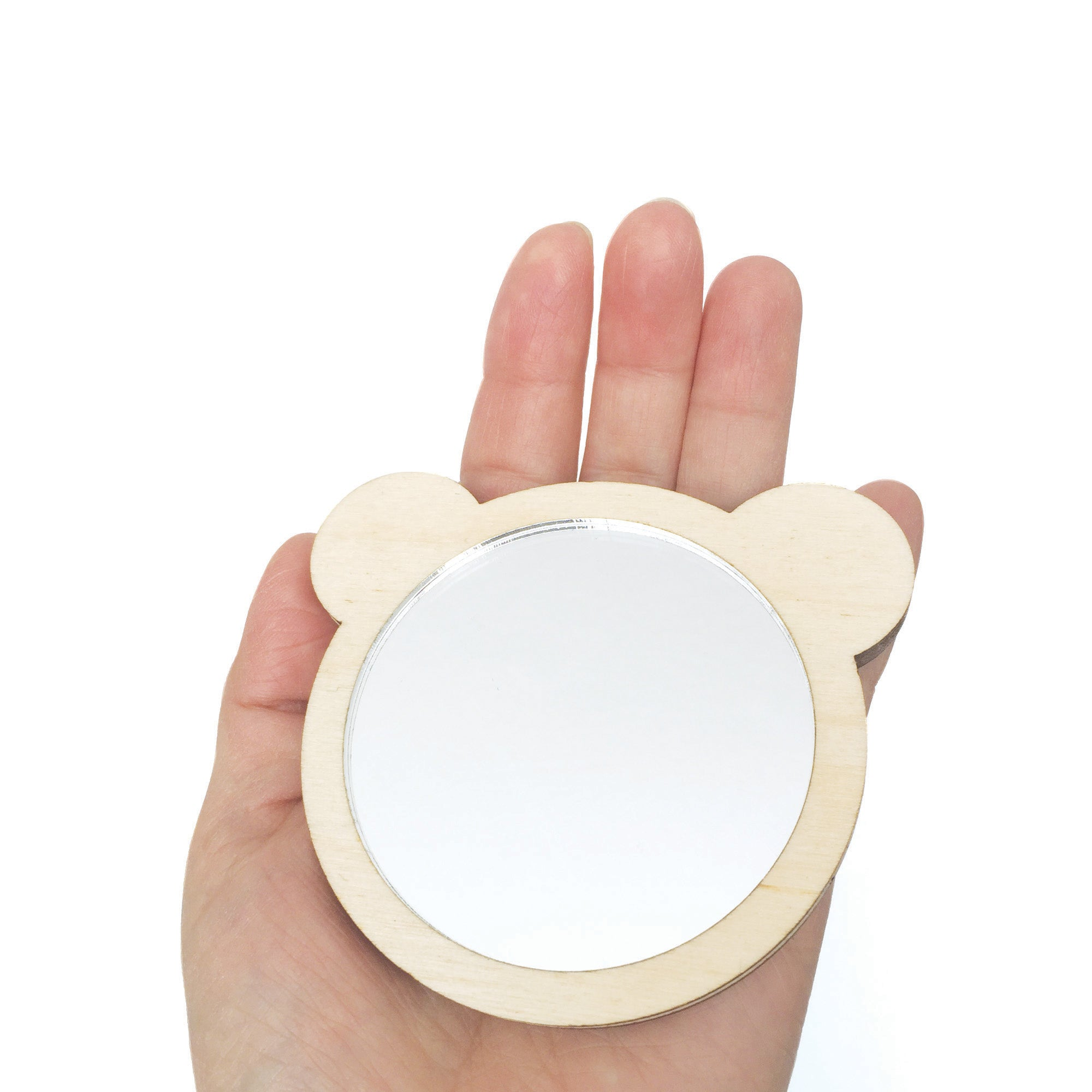 Teddy Bear Pocket Mirror