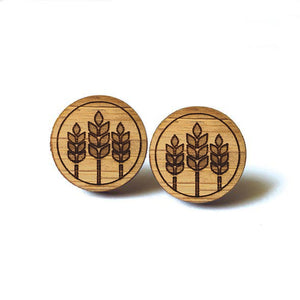 Prairie Wheat Earrings