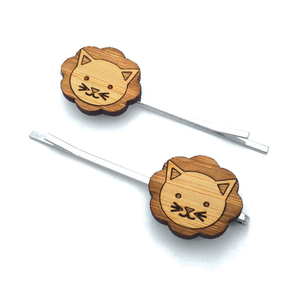 Lion Hair Pin Set