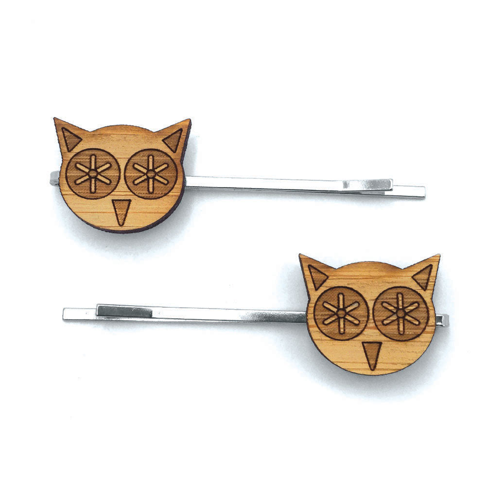 Owl Hair Pin Set