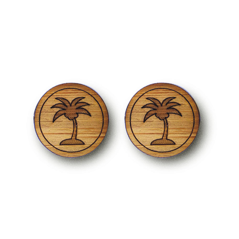 Tropical Palm Tree Cufflinks