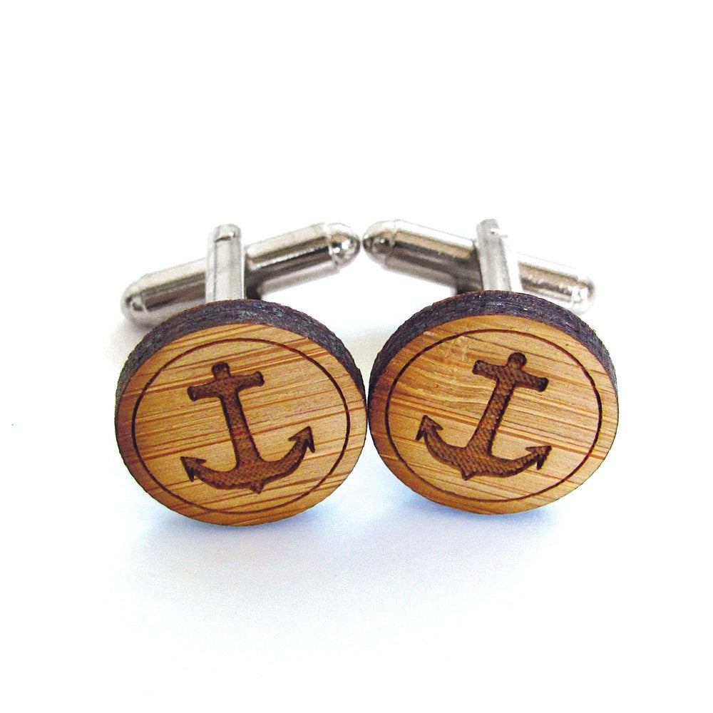 Anchor Cufflinks